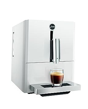 JURA A1 Independiente Máquina espresso Blanco 1,1 L 9 tazas Totalmente automática - Cafetera