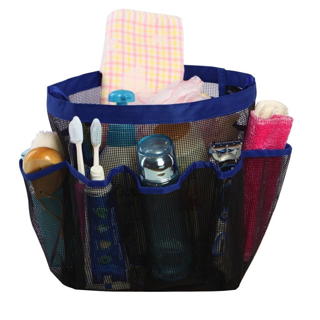 Amazon.com: Mayin Quick Dry Hanging Toiletry and Bath Organizer with ...