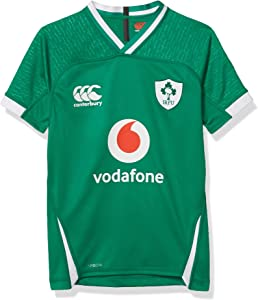 Canterbury Official 19/20 Ireland Rugby Kids Vapodri+ Home Pro Jersey