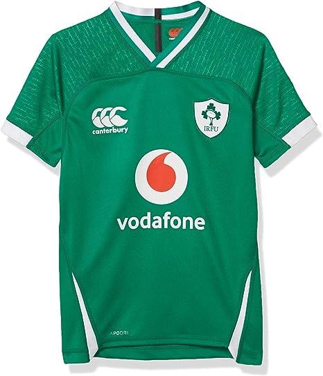 Canterbury Ireland 19/20 Vapodri+ Home Pro - Camiseta de Rugby. Unisex niños: Amazon.es: Ropa y accesorios