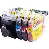 【インク革命製】 brother LC3129-4PK 4色セット (BK/C/M/Y) ブラザー 互換 インクカートリッジ ICチップ付き