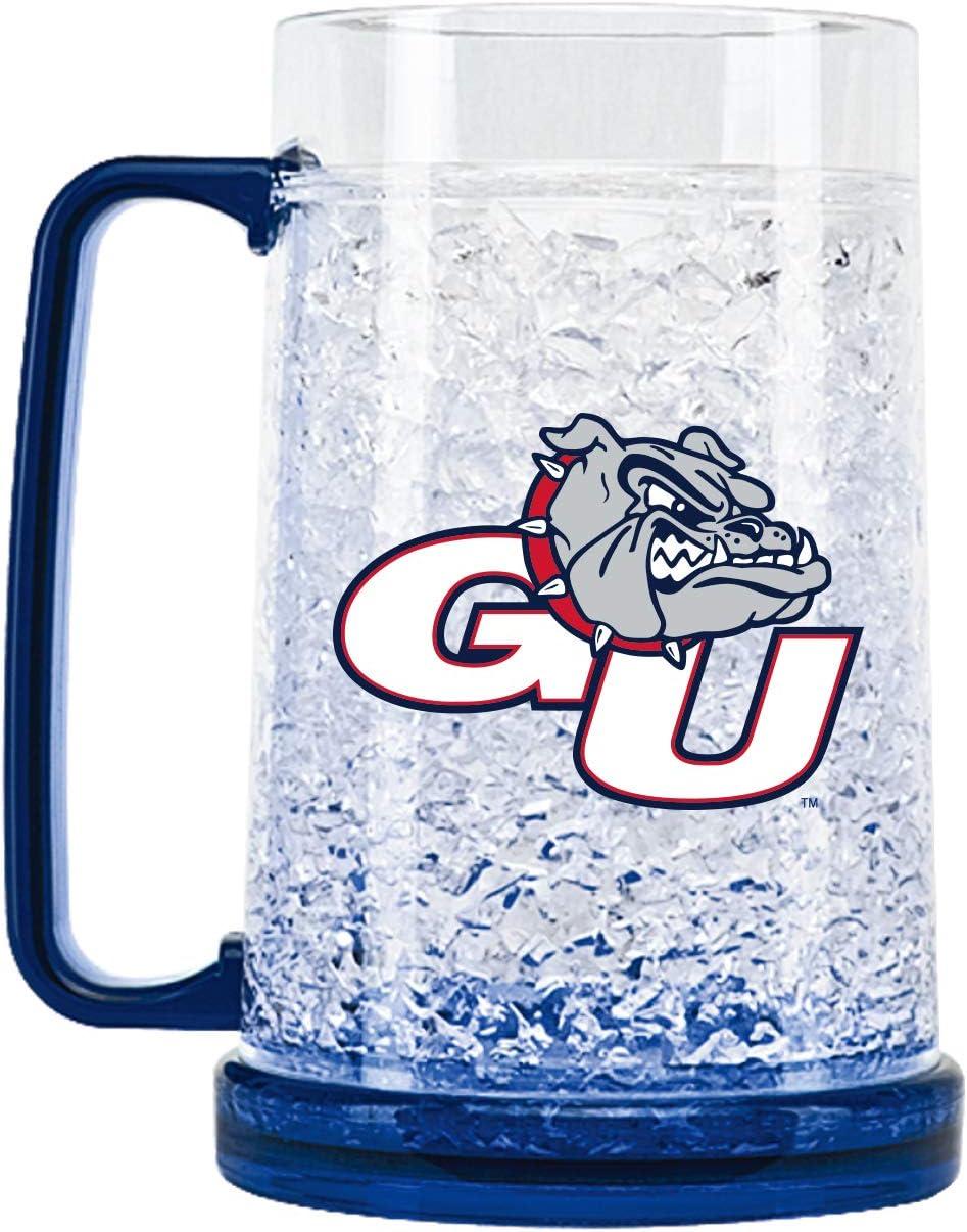 NCAA Gonzaga Bulldogs 16oz Crystal Freezer Mug