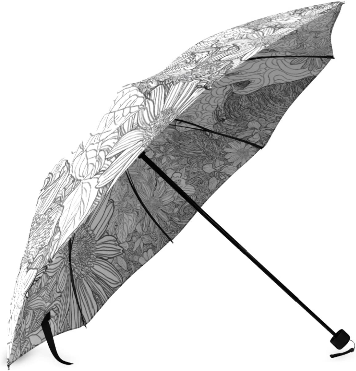 Personalized Life In A Day Portable Fashion Foldable Umbrella