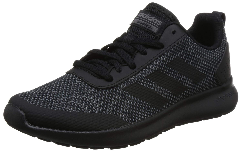 schwarz schwarz grau foncà adidas Herren Cloudfoam Element Race Traillaufschuhe, grau Carbone schwarz Weiß, EU