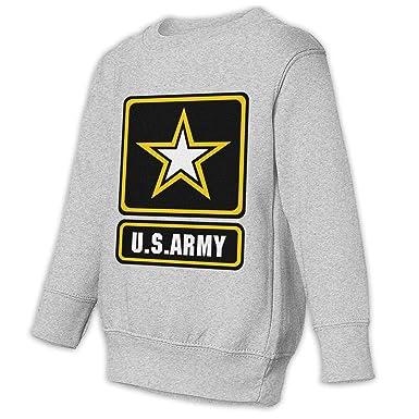 ecf27dfb Amazon.com: Shijingshan Children's Crew Neck Sweatshirts Us Army ...