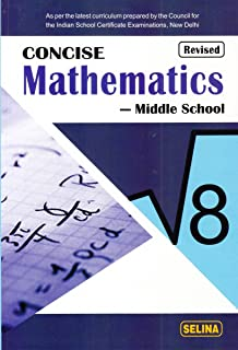 amazon in buy concise mathematics for class 8 old edition book