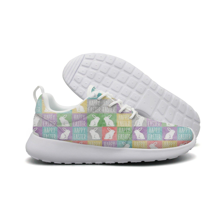 Easter Bunnies Women's Athletic Running Shoe