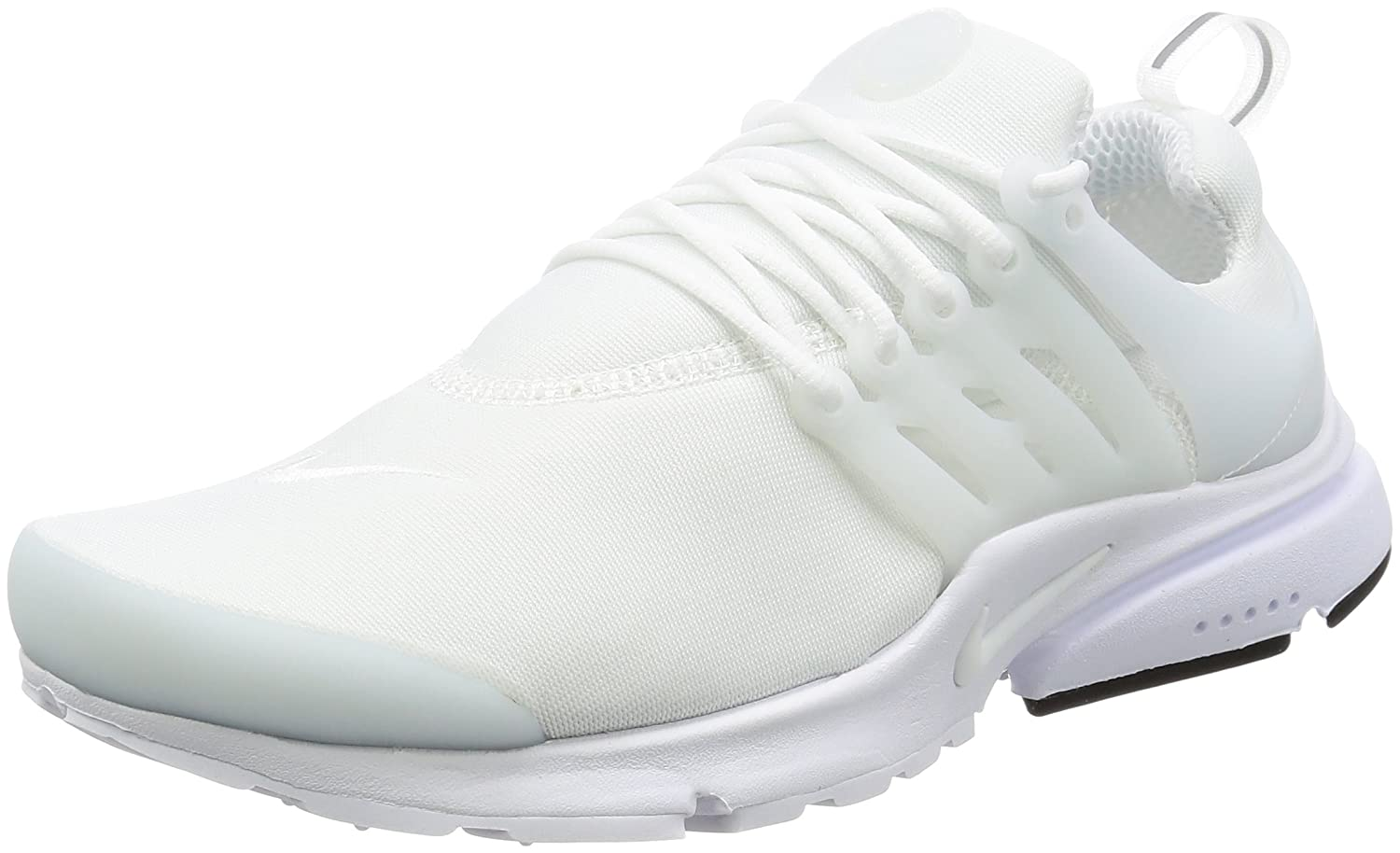 latest the best really comfortable Nike Men's Air Presto Essential White/White/Black Running ...