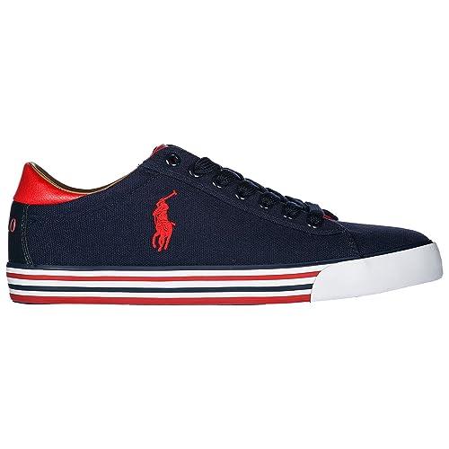 Polo Ralph Lauren Zapatillas Hombre Navy: Amazon.es: Zapatos y ...