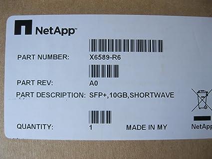 Optical 10GB Shortwave Transceiver GBIC X6589R6 NetApp X6589-R6 SFP