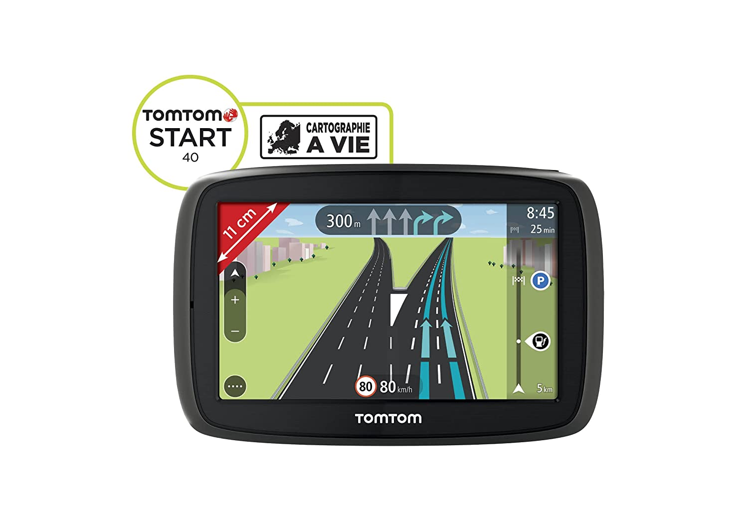 TomTom Start 40 EU 23 Fijo 4.3