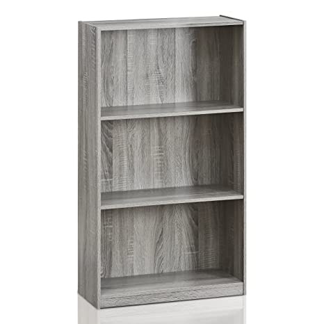 itm large display c mexican pine corona shelves fox washed b rev bookcase grey wide tall