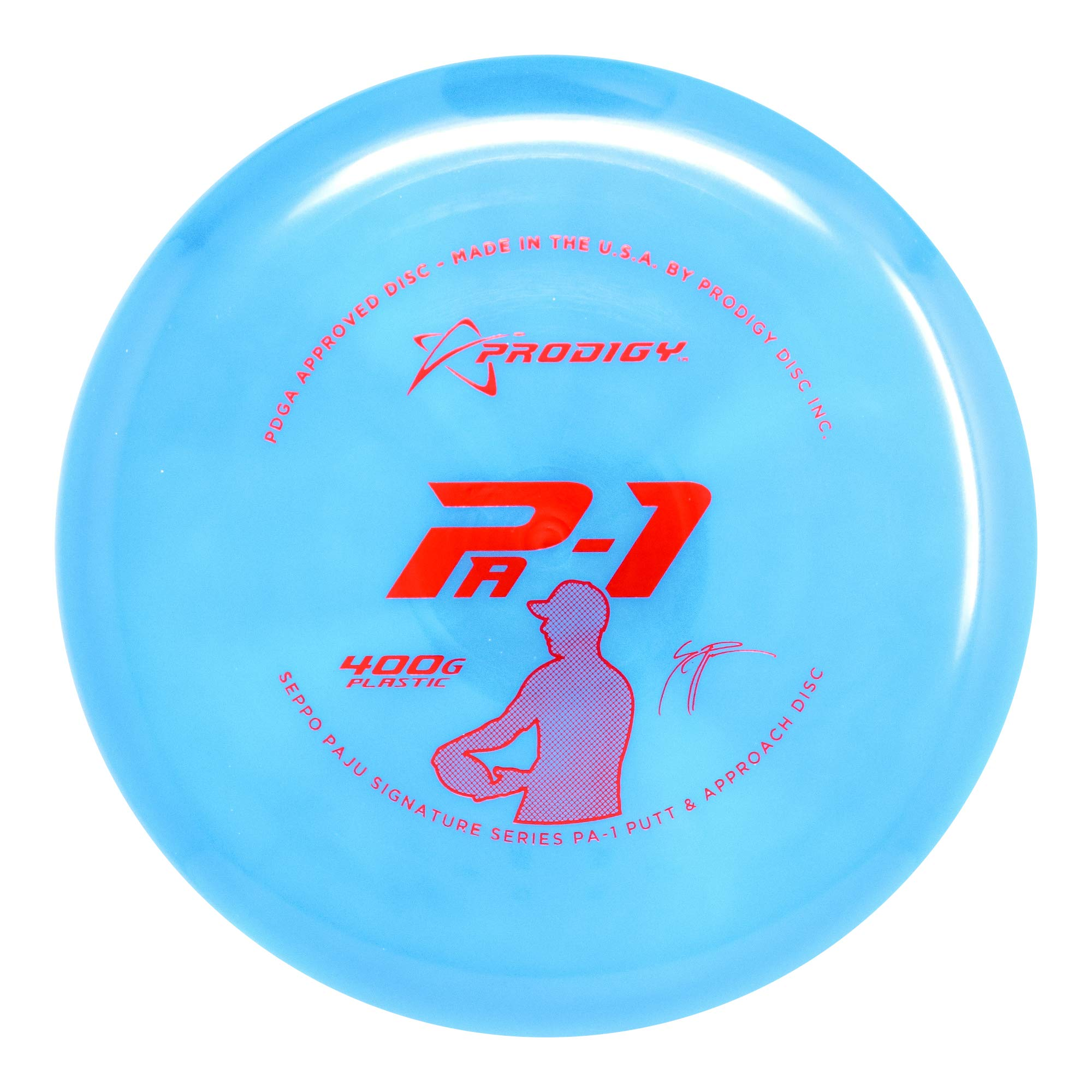 Prodigy Disc Limited Edition Signature Series Seppo Paju 400G Series PA1 Putter Golf Disc [Colors May Vary] - 170-174g