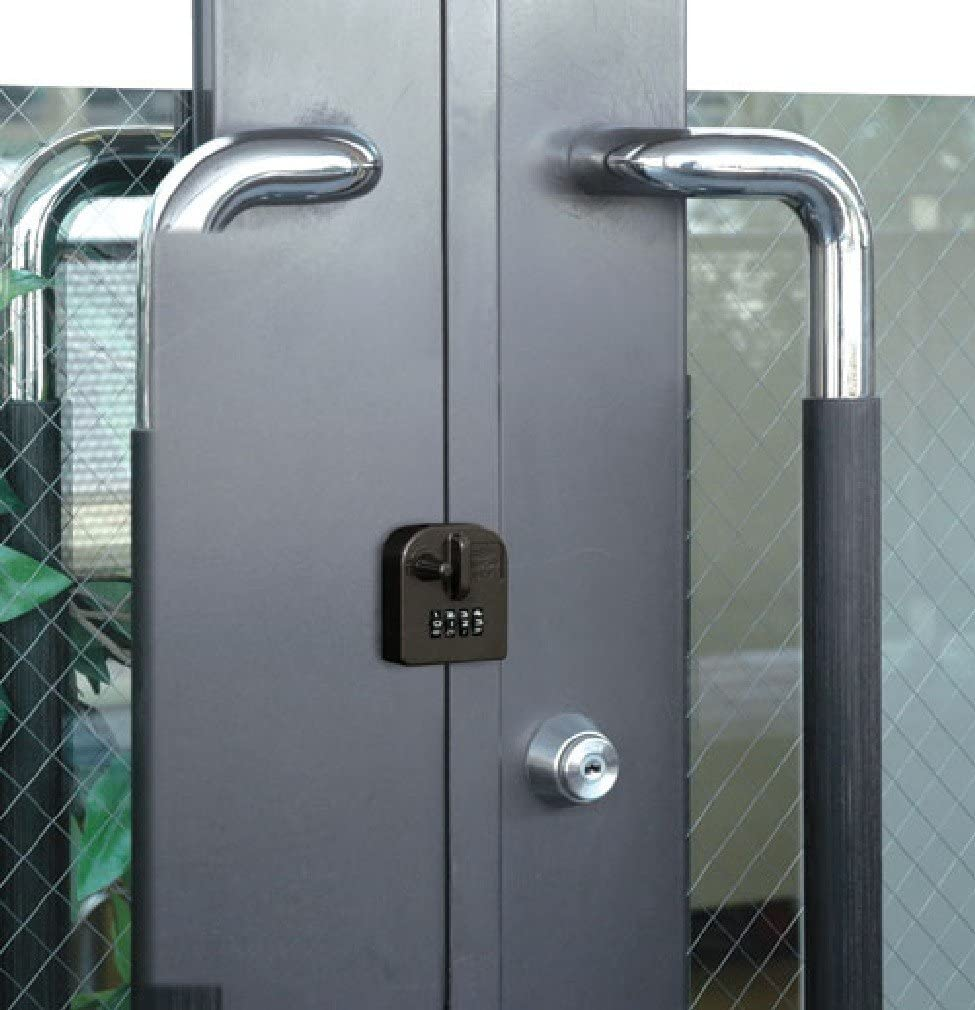 外開きタイプの補助錠