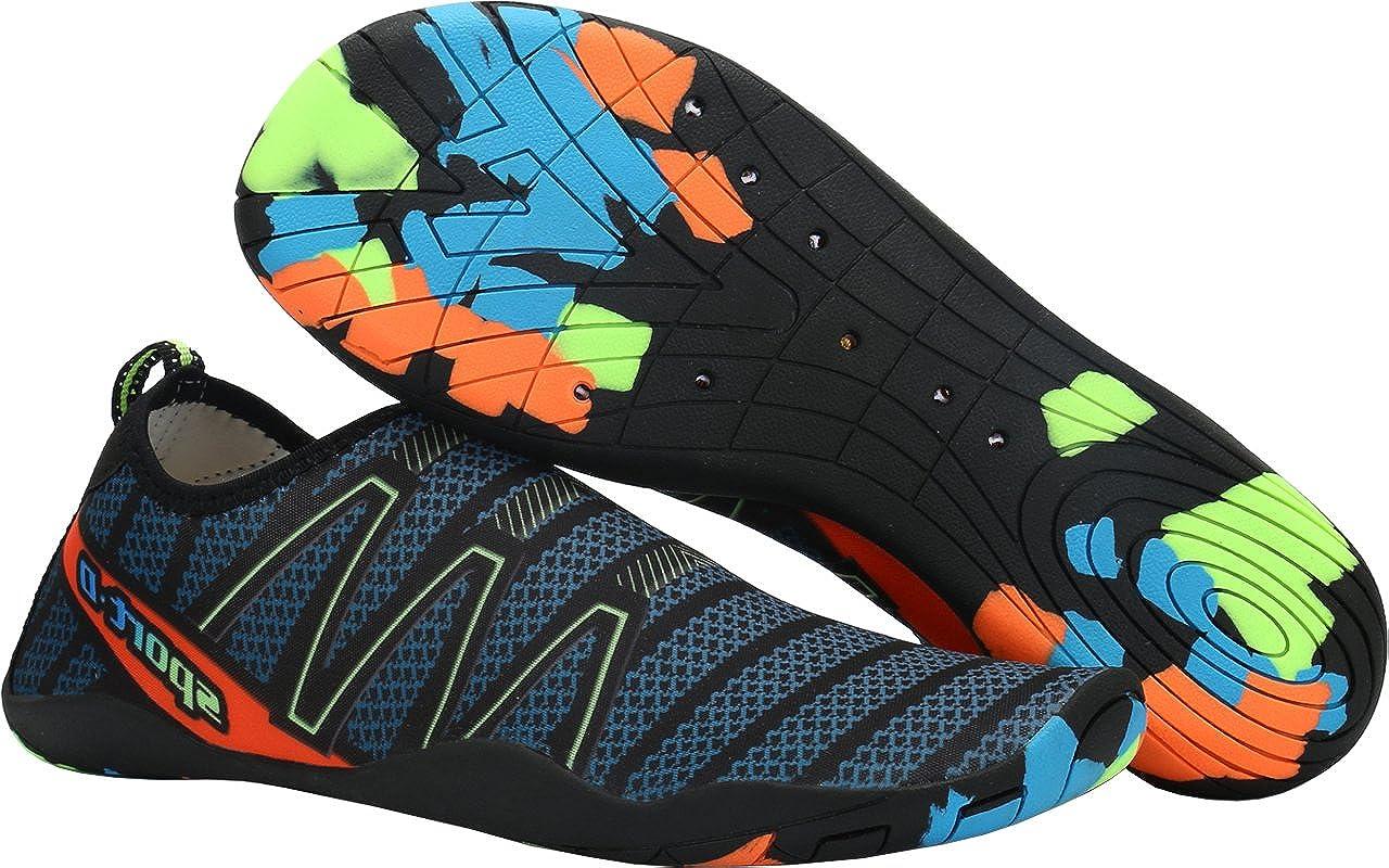 a064f7064cc Gaatpot Chaussures de Sports Aquatiques Chaussons D eau Tongs de ...