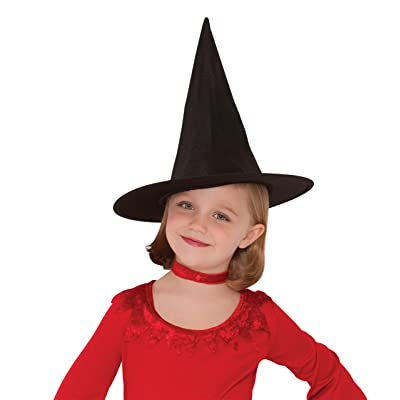 Amscan Classic Children's Witch Hat, Black, One Size: Toys & Games