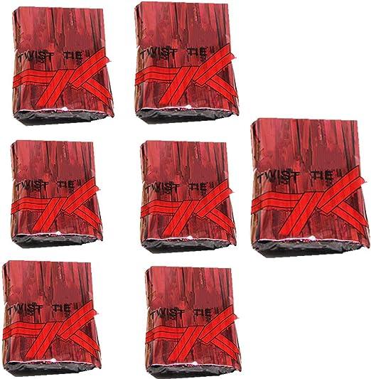 Fully 7 paquetes (700 piezas/paquete) Corbatas metálicas de 10 cm ...