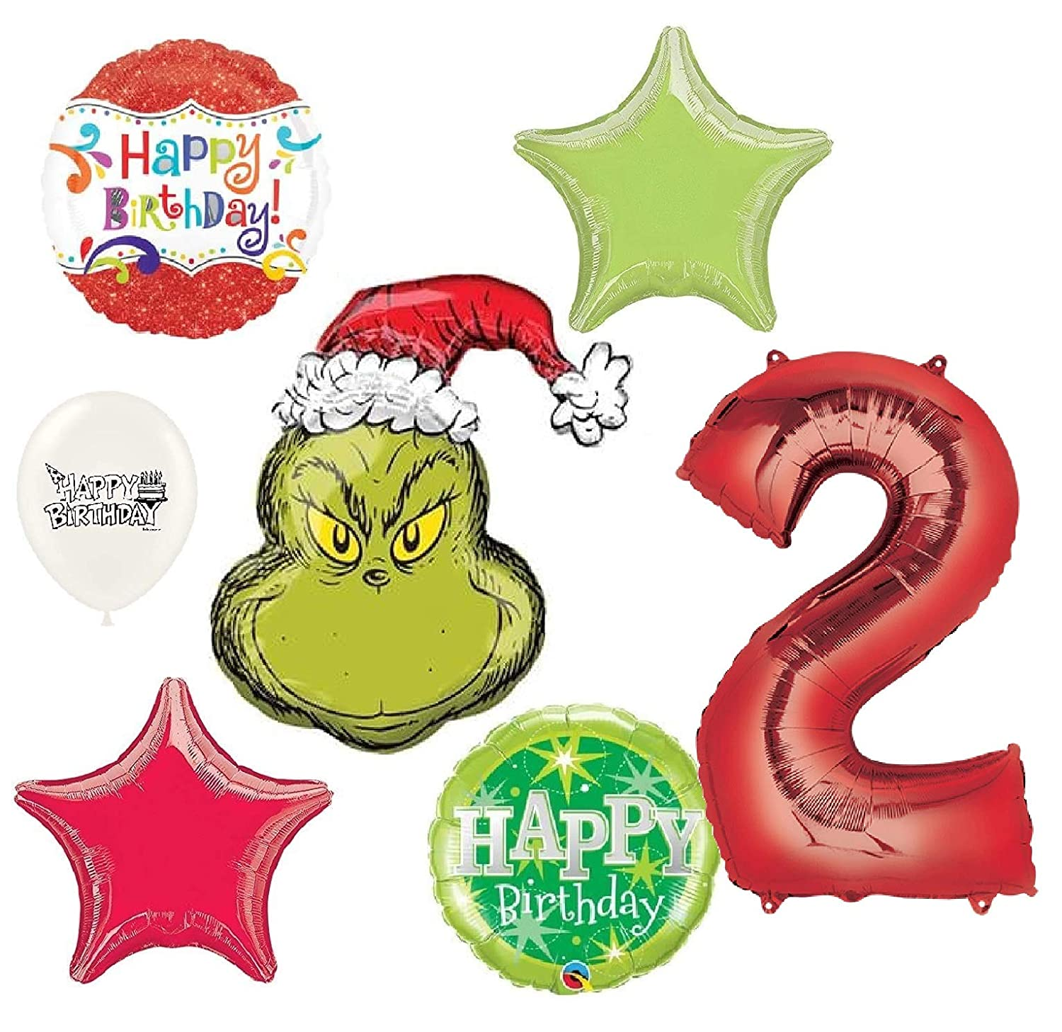 Amazon Com The Grinch Wishes You A Happy 2nd Birthday Party