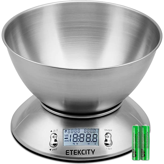 Top 9 Kitchen Food Scale With Bowl