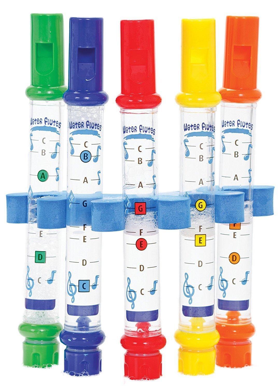 Deanyi Kids Children Bathing Shower Bath Tub Water Flute Whistles Music Toy