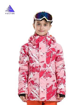 Amazon.com: VECTOR - Chaqueta de esquí impermeable con ...