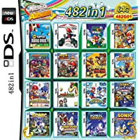 482 games in 1 NDS Game Pack Super Combo cartridge voor NDS 2DS NDSL NDSI Nieuw 3DS XL