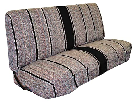 Seat Covers For Trucks >> Saddle Blanket Truck Bench Seat Cover Fits Chevrolet Dodge Ford Trucks Black