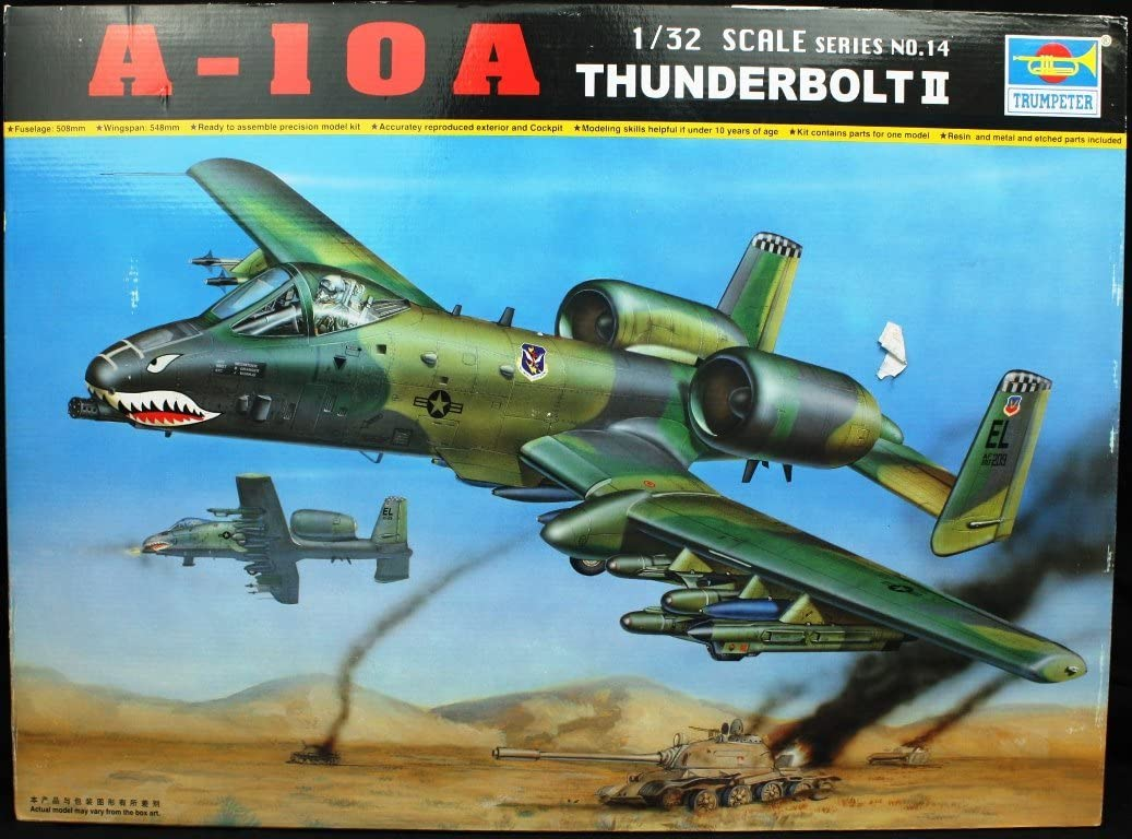 A 10a Warthog Thunderbolt Ii 1 32 Trumpeter Toys Games