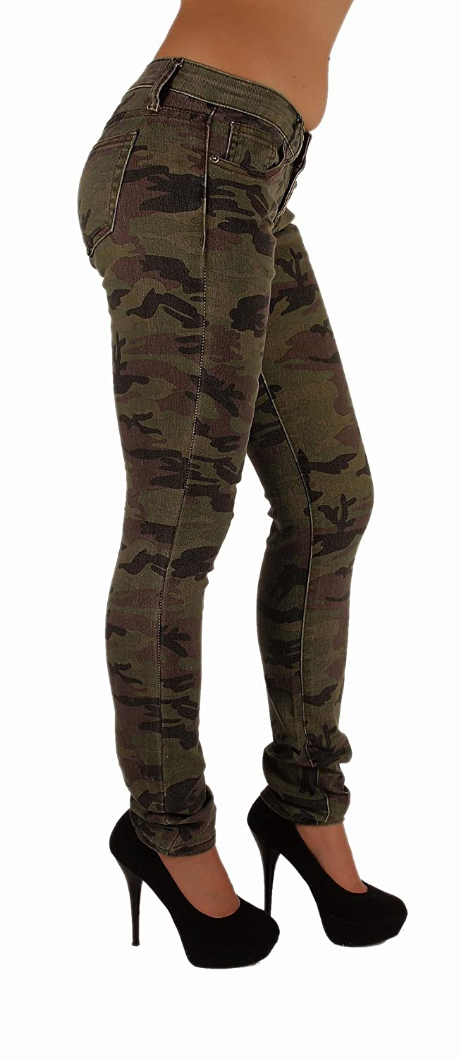 Amazon.com: VIP Jeans Women's Five Pockets Camouflage Stretch Skinny Jeans:  Clothing - Amazon.com: VIP Jeans Women's Five Pockets Camouflage Stretch