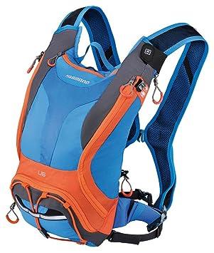 SHIMANO BGDPMAN206U60 - Mochila SH Unzen 6l Azul/Naranja V15: Amazon.es: Deportes y aire libre