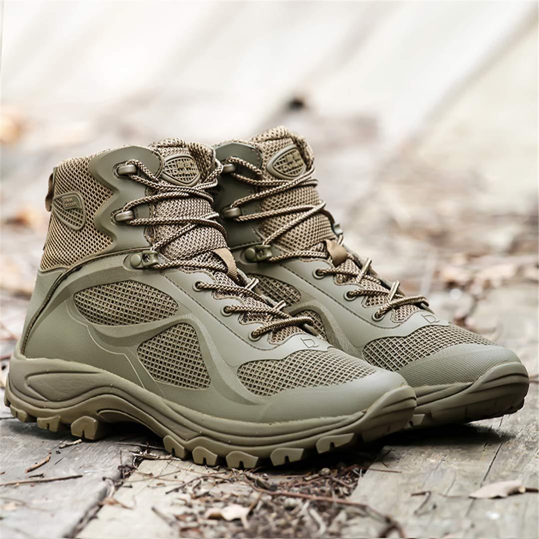 e37652d4a5b52 Amazon.com: Outdoor Trekking Boots Men Military Tactical Hiking ...