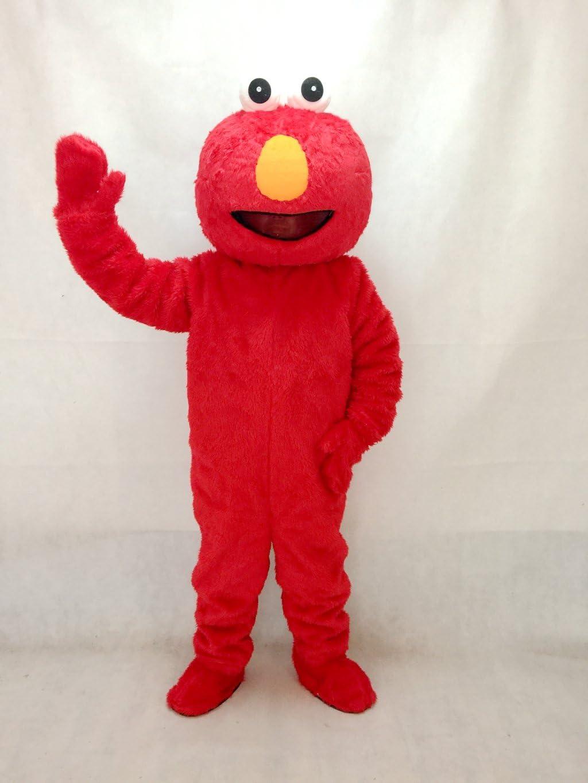 rushopn - Disfraz de Mascota Elmo de Pelo Largo para Fiestas de ...