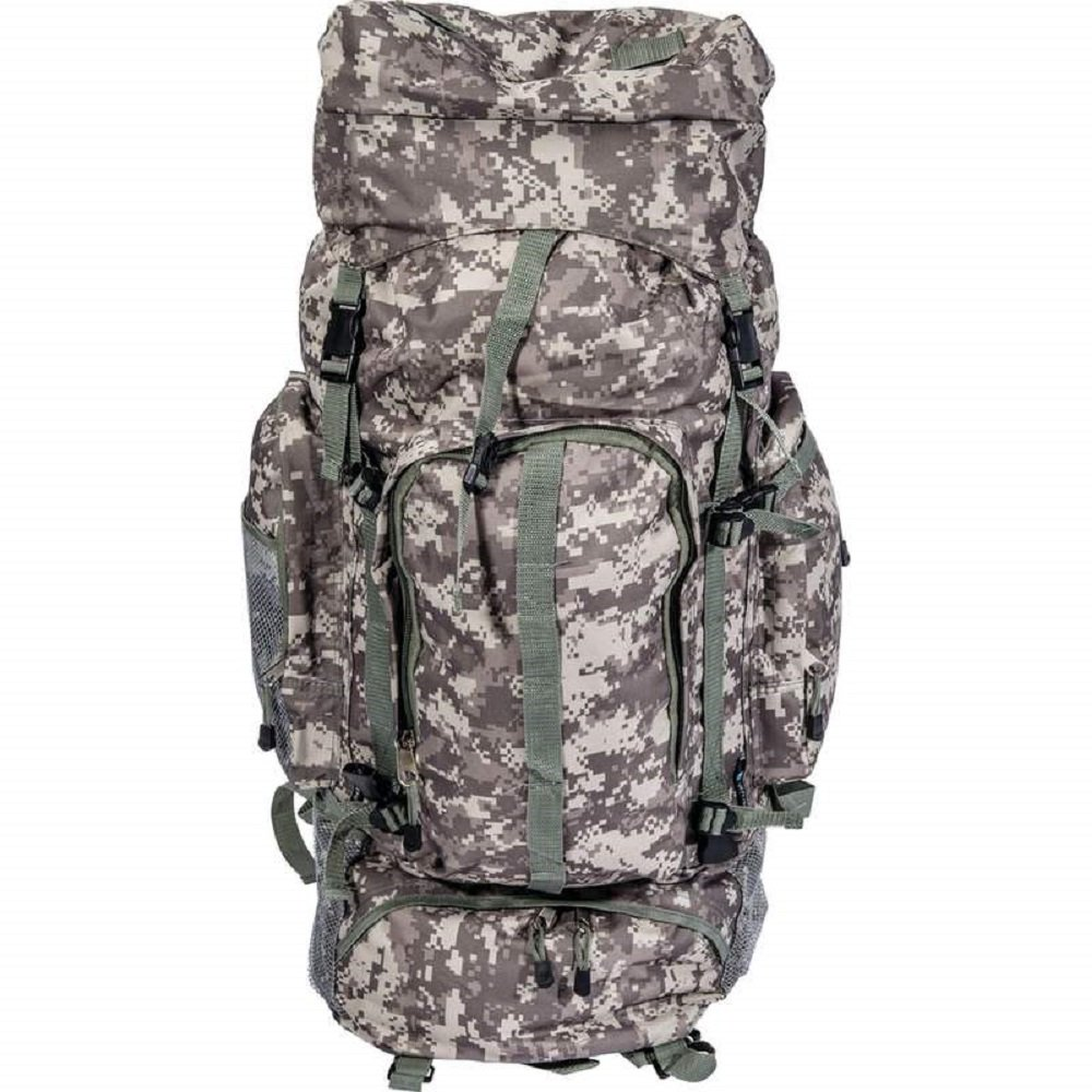 Extreme Pak™ Digital Camouflage Water-Resistant, Heavy-Duty Mountaineer's Backpack by BF001