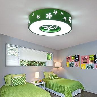 GBYZHMH Kreative Kinderzimmer LED Deckenleuchten Für Schlafzimmer,  Arbeitszimmer (Blau/Grün/Rot