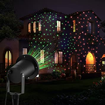Garden Lights FeelGlad 2 in 1 Waterproof Starry Outoor Light for