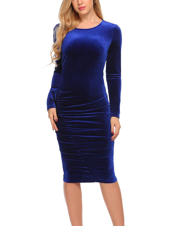 Top 10 wholesale Long Sleeve Velvet Bodycon Dress - Chinabrands.com 7d5a22585