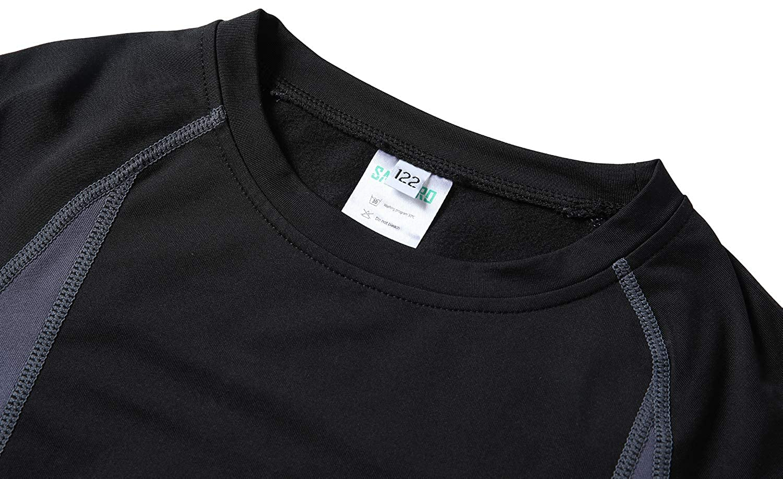 HAINES Kid/'s Thermal Underwear Set Kids Thermals Inner Fleece Thermal Underwear Base Layer Bottom /& Tops