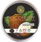 SolaceDeArtisan Coconutty Hydrating & Plumping Lip Scrub, Coconut Powder & Jojoba Oil, SuperValuePack 20g