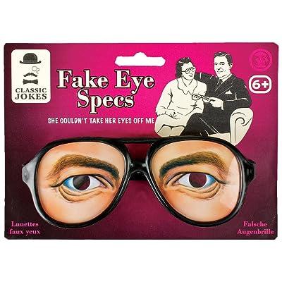 1 paire de Fausses lunettes (... faux yeux)