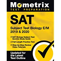 SAT Subject Test Biology E/M 2019 & 2020 - SAT Biology Subject Test Secrets Study Guide, Full-Length Practice Test, Step…