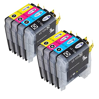 AA + inks LC123 X L - Cartuchos para impresora Brother LC 123 XL ...