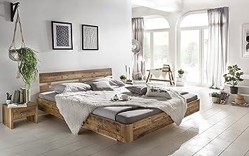 Woodkings Bett 180x200 Hampden Doppelbett recycelte Pinie ...