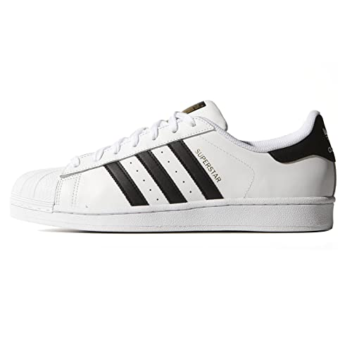 adidas superstar nere 38  ADIDAS SUPERSTAR CLASSIC BIANCO-NERO S81858 - 38-2-3, BIANCO: Amazon ...