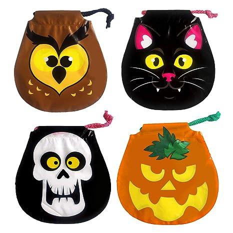 f30fbebc5 Bolsa de Caramelos de Halloween/Estilos Surtidos Lindo Truco o invitación  de Halloween Bolsas de
