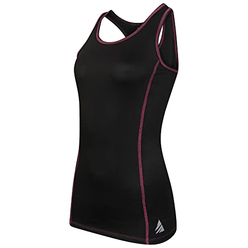 Chaleco deportivo sin mangas para mujer, absorbe la humedad, espalda elástica, estilo deportivo, par...