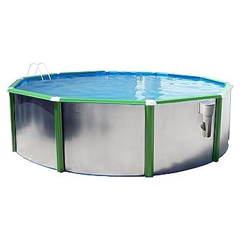Pool Circular Ausserhalb Boden 350 X 120 Doppelwandig Hartschale