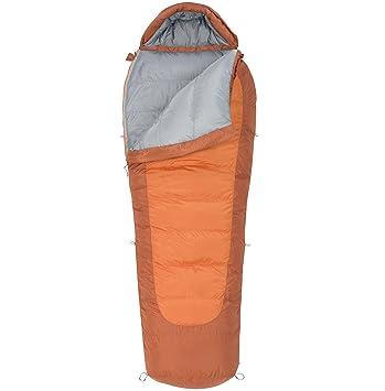 Kelty Coromell Down 0° - Saco de dormir momia para acampada, color naranja, talla Derecha: Amazon.es: Deportes y aire libre