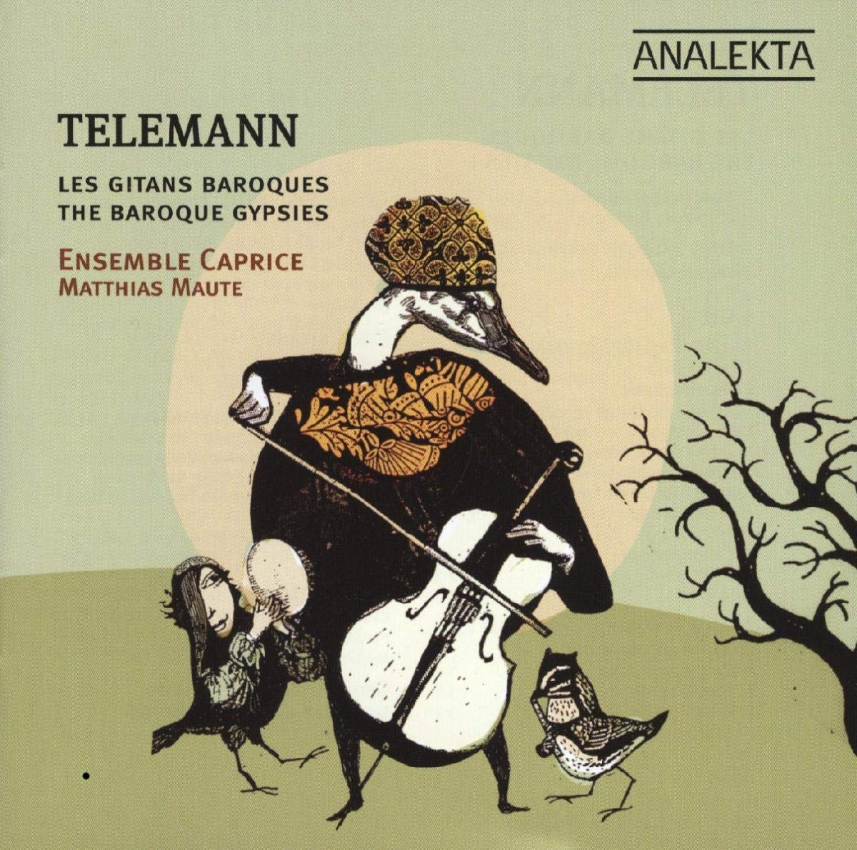 Telemann & Baroque Gypsies by ANALEKTA.