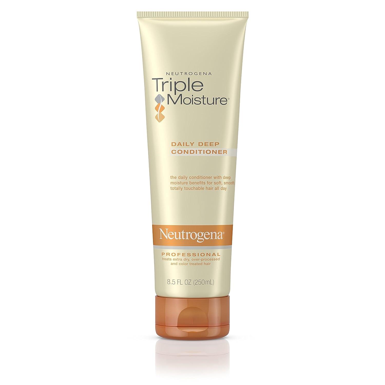 Neutrogena Triple Moisture Daily Deep Conditioner For Dry Hair Moisturizing, 8.5 fl. oz. U-HC-2936