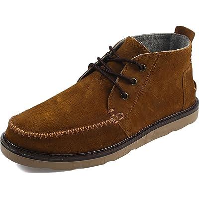 TOMS Chukka Boots Mens Leather Chukka Boots | Chukka